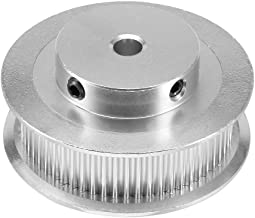 uxcell Aluminum GT2 60 Tooth 5mm Bore Timing Belt Pulley Flange Synchronous Wheel for 3D Printer