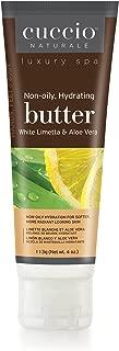 Cuccio Naturale Spa White Limetta & Aloe Vera Butter ? 4 oz.