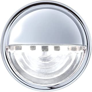 United Pacific 39995b 4 LED Round License/Auxiliary Light
