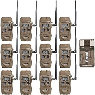 Cuddeback CuddeLink J Series Long Range IR Trail Camera (12-Pack), 20 Megapixels, Built-in Wireless Network