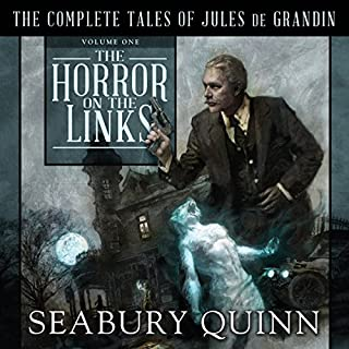 The Horror on the Links audiobook cover art