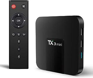 TX3 Mini Android 8.1 TV Box 4K TV Amlogic S905W Quad core H.265 Decoding 2.4GHz WiFi TV Box - 2GB/16GB