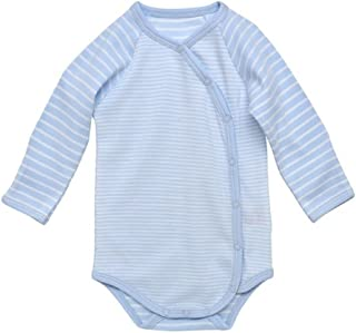 Under the Nile Organic Cotton Long Sleeve Side Snap Baby Bodysuit