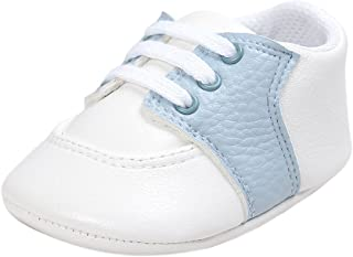 Infant Baby Boys' Girls' Non-Slip Rubber Sole First Walking Shoes Breathable Toddler Sneakers