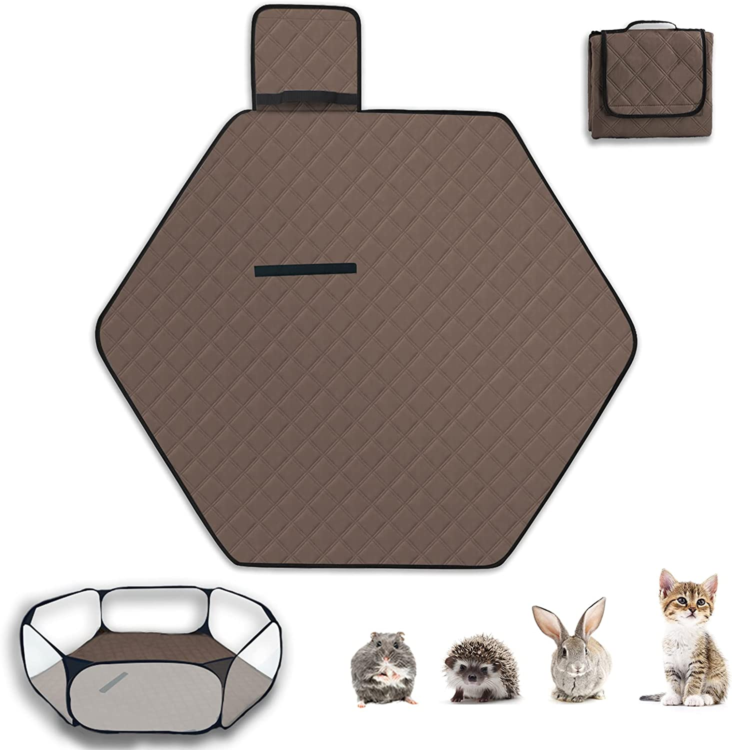 Sixbaola Hexagon Guinea Pig Pad Ranking TOP13 Small Import Animal for Washable Liner