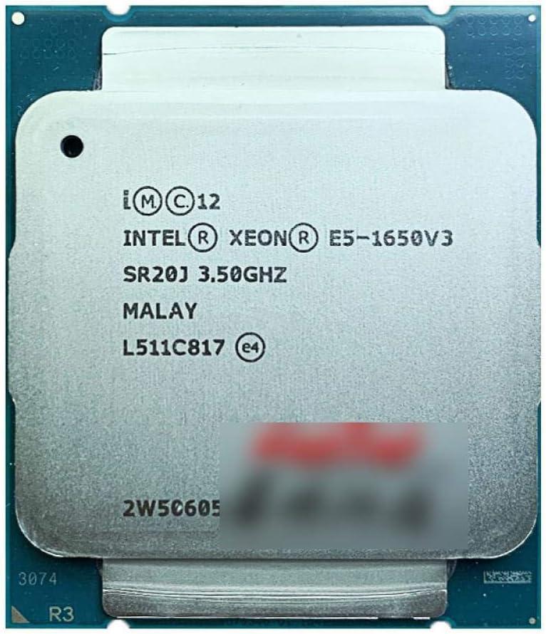 Intel Xeon E5-1650V3 E5 1650v3 1650 Twelv OFFicial store GHz 3.5 Six-Core V3 [Alternative dealer]