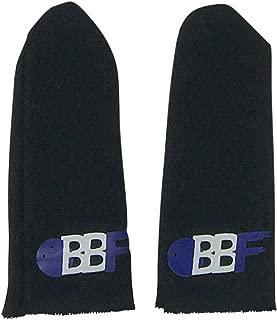 bowlingballfactory.com 2 Pack Black Bowling Thumb Sock - Sizes: Large or Extra Large