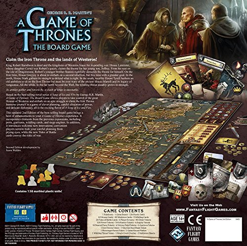 A Game of Thrones The Board Game,...