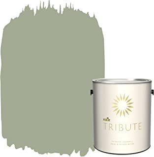 KILZ TRIBUTE Interior Eggshell Paint and Primer in One, 1 Gallon, Summer Haven (TB-75)