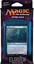 Magic the Gathering: MTG Eldritch Moon: Intro Pack / Theme Deck: Dangerous Knowledge (includes 2 Booster Packs & Alternate Art Premium Rare Promo) Blue / Red - Niblis of Frost