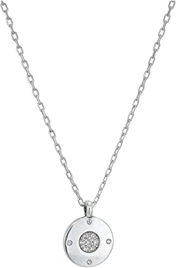 Contempo Ice Reversible Petite Round Necklace