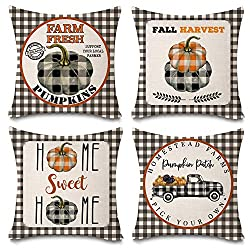 Fall Decorative Pillow Sets - So easy to update your home!