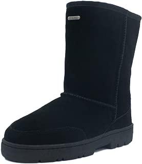 K.Signature Womens Joyce Short Classic Sheepskin Winter Boots