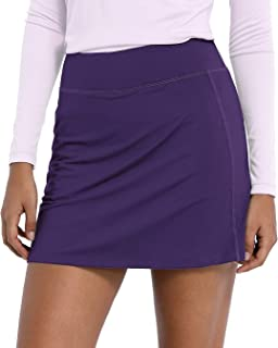 CQC Women's Active Athletic Skirt Sports Golf Tennis Running Skort with Pockets