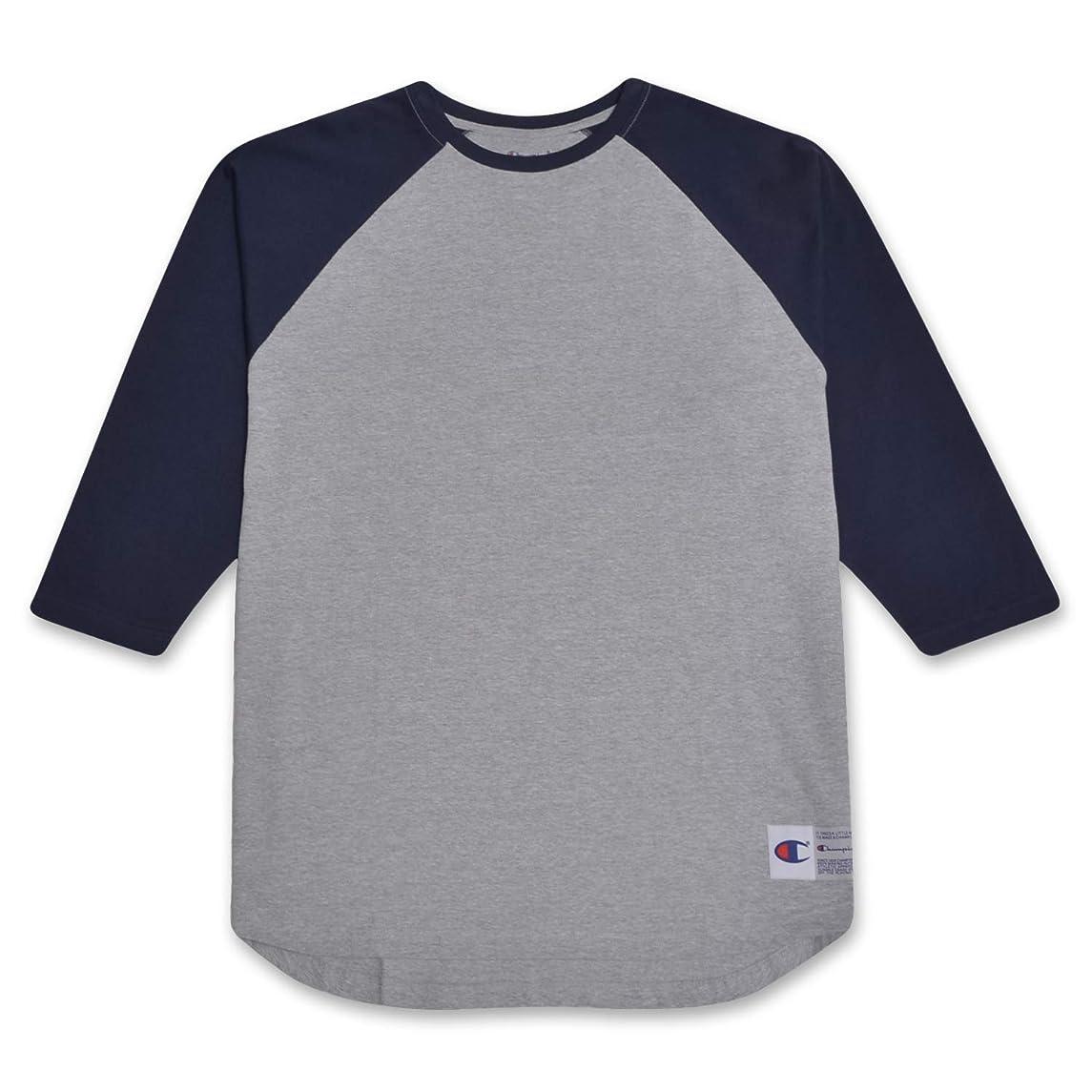 Champion Mens Big and Tall Raglan Baseball T Shirt