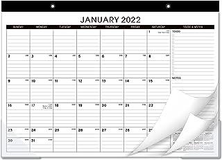 "2021-2022 Desk Calendar -18 Months Large Page Monthly 2021-2022 Desk Calendar July 2021-2022, 17"" x 12"", Jul 2021 - Dec 20..."