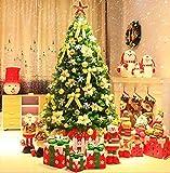 Attrezzatura Vivente Albero di Natale in PVC con LED Facile da installare Pieghevole Decorazione Adatta per Feste di Natale Decorazioni per Famiglie di Scene in Hotel 1123 (Colore: 1,5 m)
