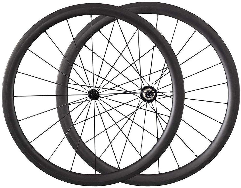 FidgetFidget Wheels Road Bike Carbon 38mm Clincher Bicycle Carbon Road Wheelset 700C Wheels