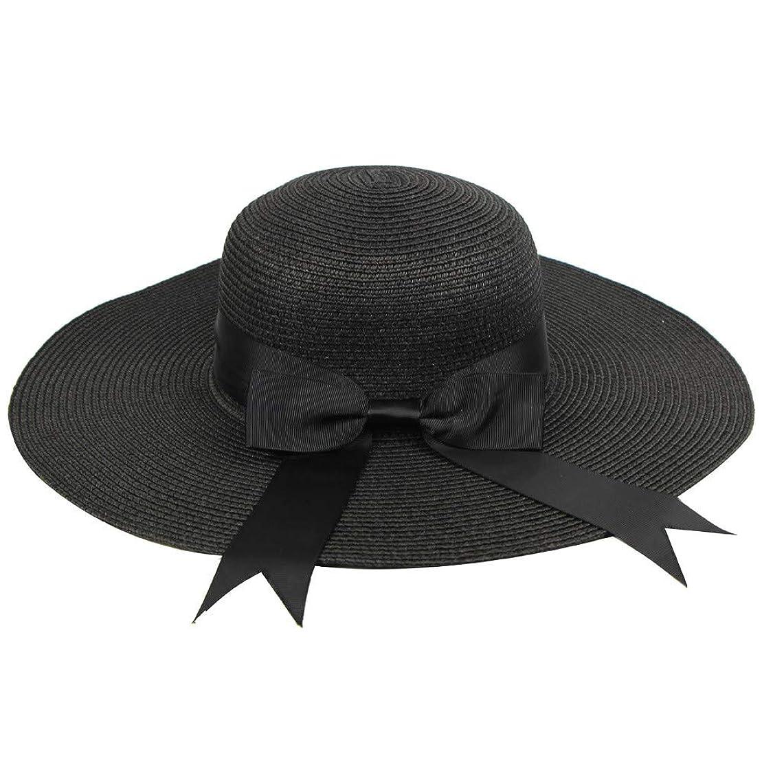 お気に入りカセット北西UVカット 帽子 ハット レディース 紫外線対策 日焼け防止 軽量 熱中症予防 取り外すあご紐 つば広 おしゃれ 広幅 小顔効果抜群 折りたたみ サイズ調節可 旅行 調節テープ 吸汗通気 紫外線対策 ROSE ROMAN