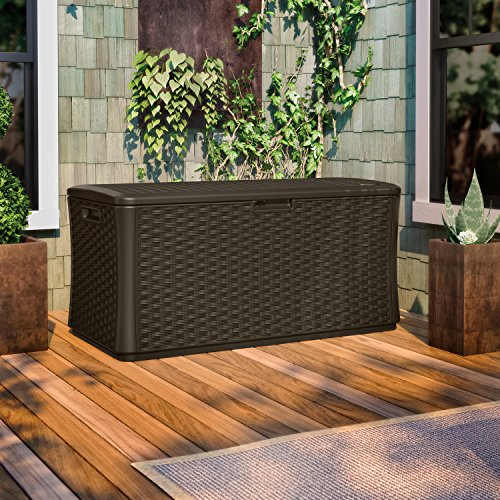 Suncast 130 Gallon Deck Box Best Deck Box