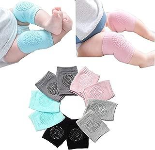 Baby Crawling Anti-Slip Knee pads, Unisex Baby Toddlers Kneepads 5 Pairs(Kneepad)