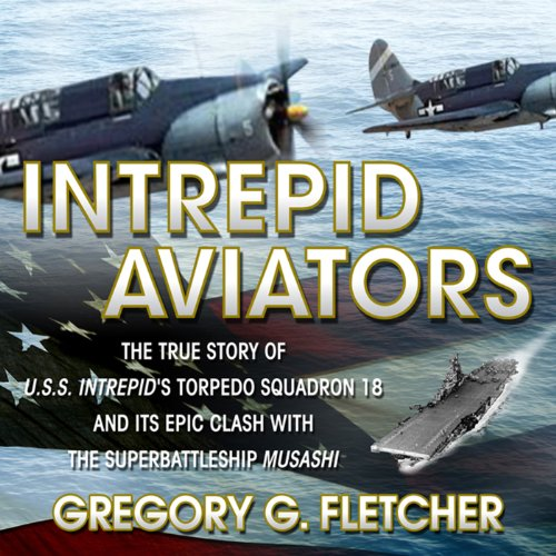 Intrepid Aviators audiobook cover art