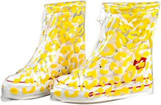 Rain Snow Shoe Covers Waterproof Boots Fashion Overshoes For Women And Men Waterproof Shoe Cover Citrine M