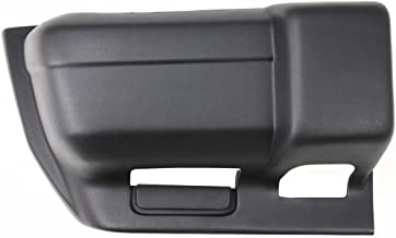 Bumper End for Jeep Cherokee 97-01 Front Textured W/Sport Model Right Side Plastic Textured