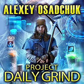 Project Daily Grind audiobook cover art