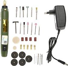 Mini Amoladora, Akozon Eléctrico lijadora Molienda Herramienta rotativo / 35 pcs amolador Portabrocas Accesorios/portátil taladro Pulidora, Amoladoras angulares (EU)