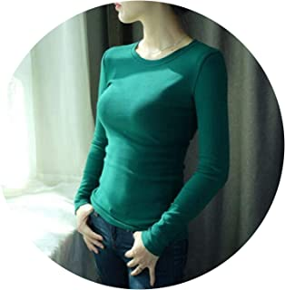 Women Turtleneck Pullover Sweater Soft Jumper Long 2018 Warm Thick Slim Fit Tops