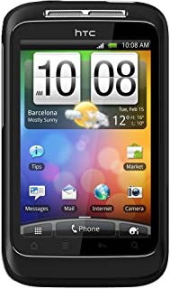 HTC A510E-BLK Wildfire S Unlocked Smartphone with Android OS, 5MP Camera, Touchscreen, Wi-Fi, GPS - No Warranty - Black