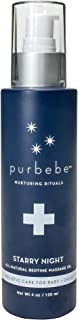 Pursoma Purbebe Starry Night Baby Oil, All Natural Massage Oil for Children and Newborns with Rice Bran Oil and Calendula ...