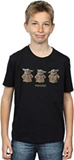 Star Wars Niños The Mandalorian The Child Poses Camiseta