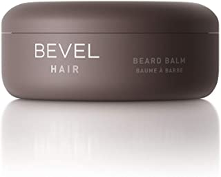 Bevel Beard Balm, with Coconut Oil and Shea Butter, Beard Care for Men, 2 fl. oz