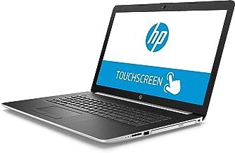 HP 17 Laptops, Premium 2019 17.3 inch HD+ TouchscreenDisplay, AMD Quad-Core Ryzen 5 2500U, 8GB DDR4, 256GB PCIe SSD, 1TB HDD, AMD Radeon Vega 8 DVD Bluetooth 4.2 802.11ac Backlit Keyboard Win 10