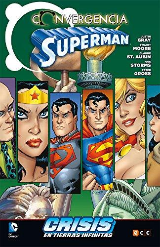 Superman converge en Crisis en las Tierras Infinitas