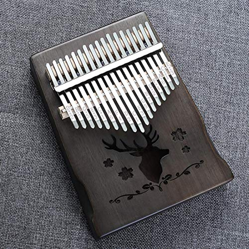 SYXMSM Kalimba 17-Key Mahogany Körper Daumen Kalimba Daumenklavier Finger Klavier Kalimba Instrument (Color : C)