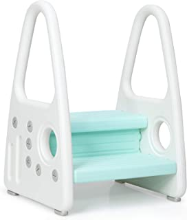 Costzon Kids Step Stool, Toddler Step Ladder for Toilet Potty Training, Kitchen Counter, Bathroom, Two Step Learning Tower...