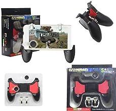 easybigdeals Easy Big Deals 5 in 1 Gamepad Set for PUBG Games Includes 1 Game Handle, 2 L/R Metal Trigger, 2 Thumb Control