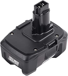 1 Pack 18 Volt 5.0Ah Lithium-Ion Replacement Battery for DEWALT 18V Battery DC9180 DC9096 DC9099 DC9181 DC9182 5000mAH