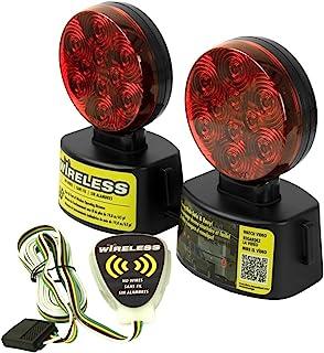 Blazer International C6304 LED Wireless Magnetic Trailer Towing Light Kit