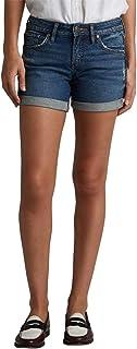 Silver Jeans Co. Women's Mid Rise Boyfriend Shorts