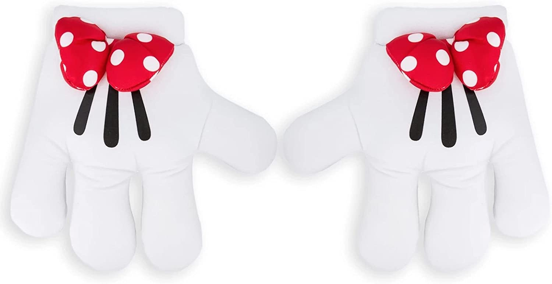 Disney Parks Exclusive - Plush Mitts Costume Gloves - Minnie