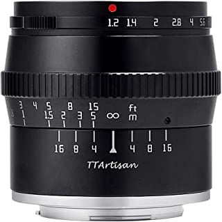 【国内正規品】銘匠光学 TTArtisan 50mm f/1.2 C (富士フイルムX) 「2年保証付」