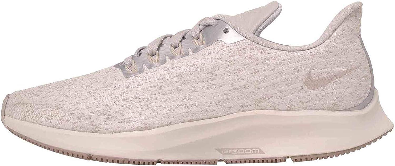 Nike Woherrar Air Zoom Pegasus 35 PRM PRM PRM Running skor (7.5 B (M) US, Vast grå  Moon Particle Summit vit)  billigaste