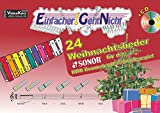 Einfacher!-Geht-Nicht: 24 Weihnachtslieder für das SONOR BWG Boomwhackers Glockenspiel mit CD: Das besondere Notenheft für Anfänger - Martin Leuchtner