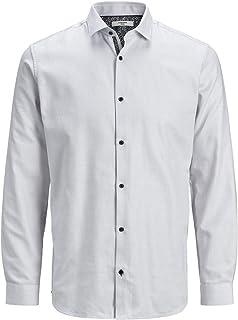 JACK & JONES Men's Jprvictor Shirt L/s Noos Casual