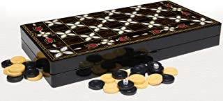turkish backgammon set mother of pearl