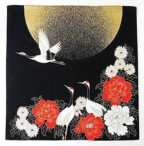 FUROSHIKI- Japanese Traditional Wrapping (Moon and Crane) by Yu-soku